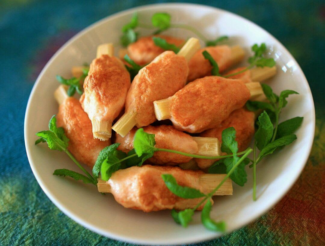 越南必吃 : 甘蔗蝦