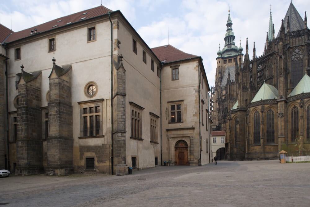 充滿歷史痕跡的舊皇宮。(照片來源:布拉格城堡官網)