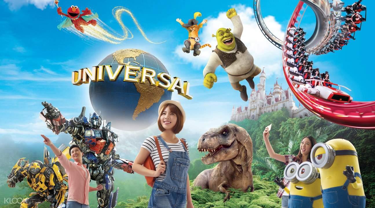 hướng dẫn đi universal studios singapore của klook