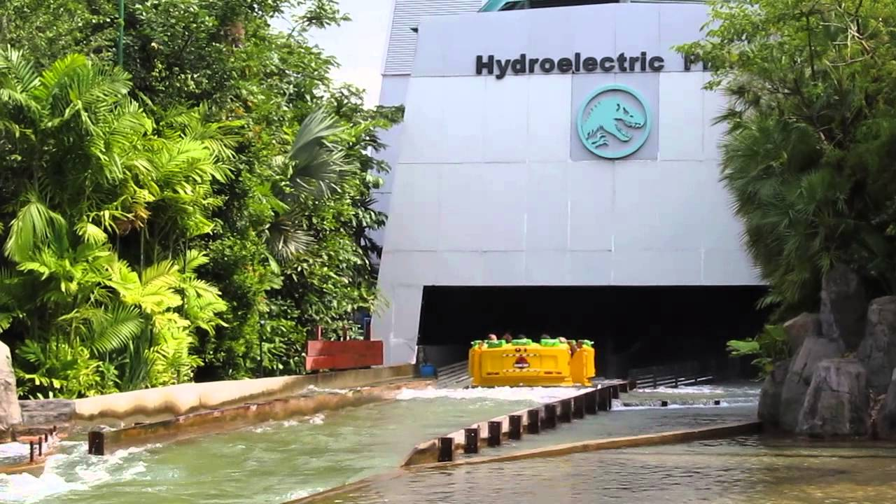 jurassic park rapids adventure tại universal studios singapore
