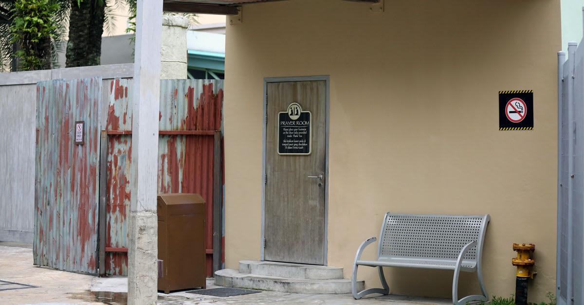 phòng cầu nguyện tại universal studios singapore