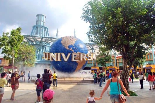 biểu tượng của universal studios