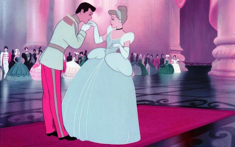 cinderella và hoàng tử