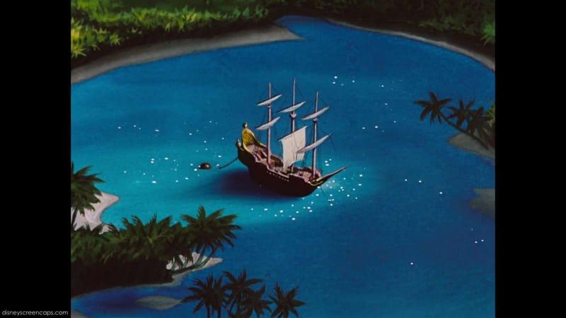 con tàu của thuyền trưởng hook