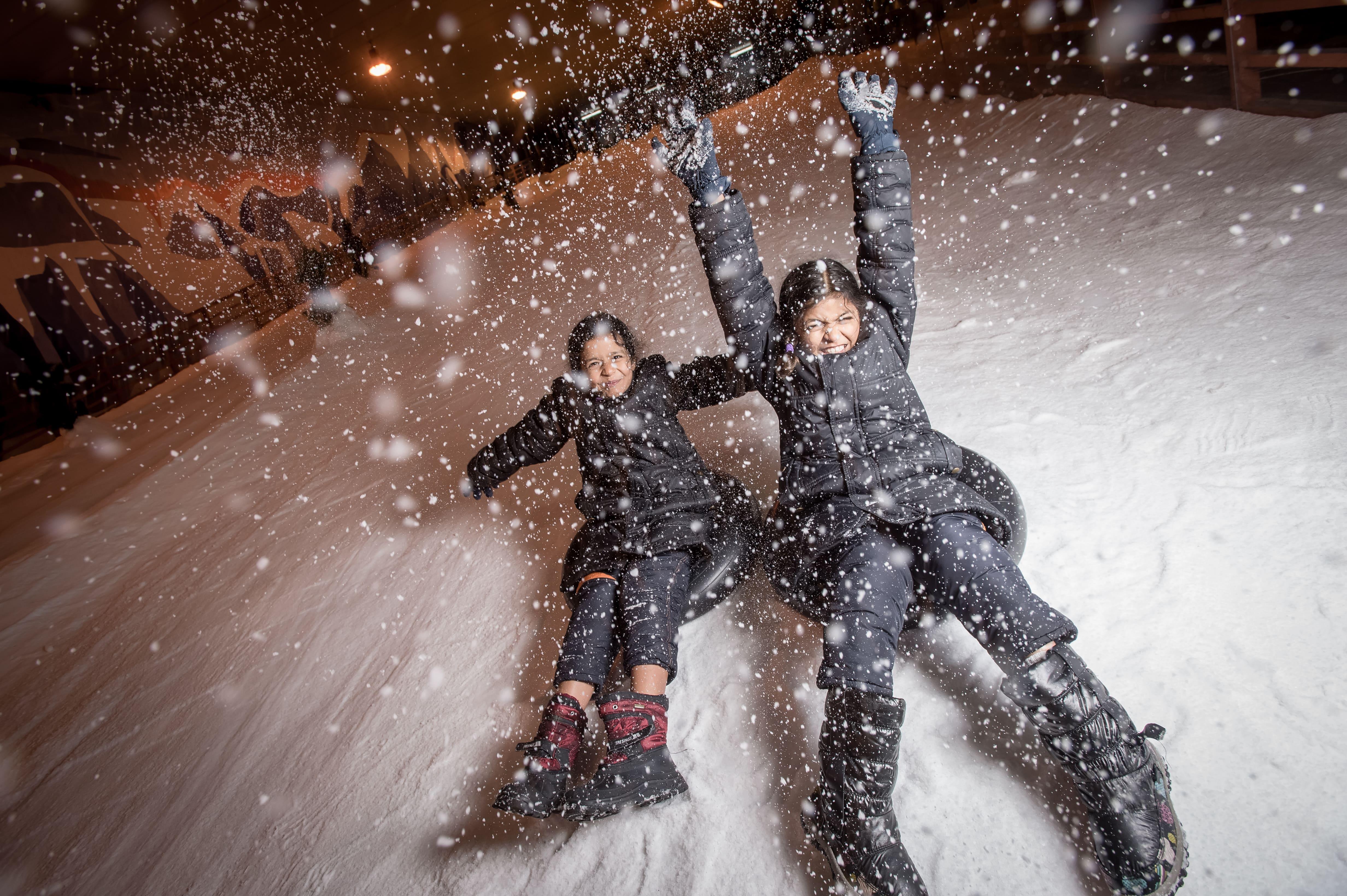 trượt tuyết tại winter wonderland