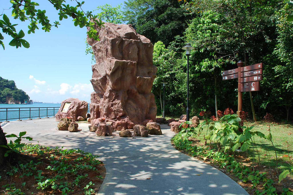 tảng đá tại khu bảo tồn labrador