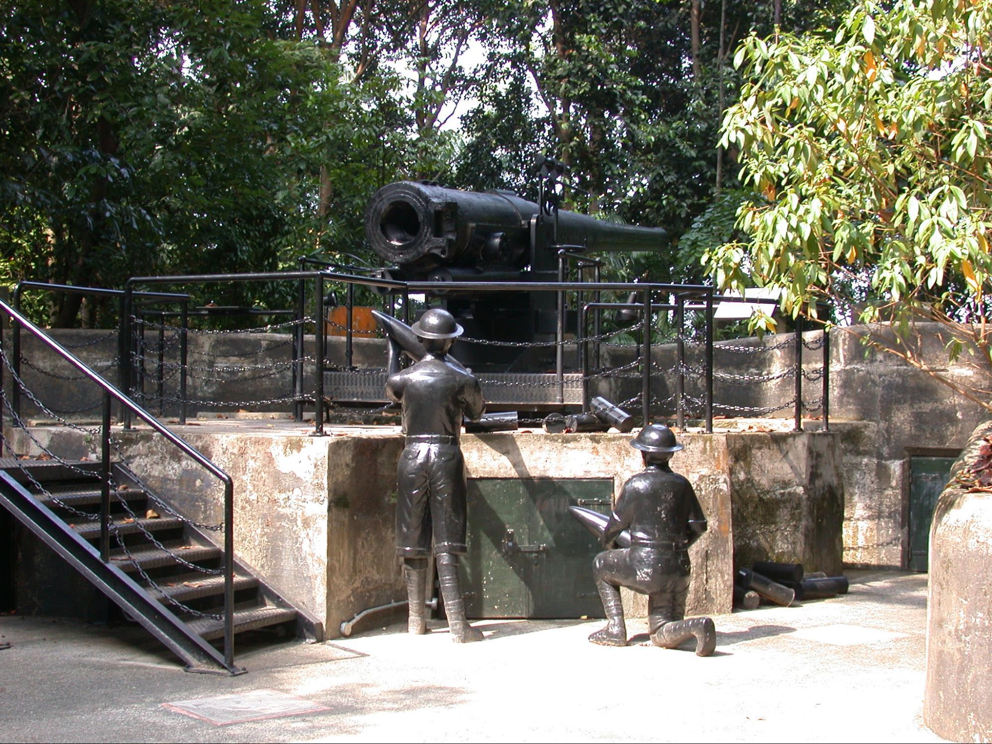 tượng quân sĩ tại khu bảo tồn labrador