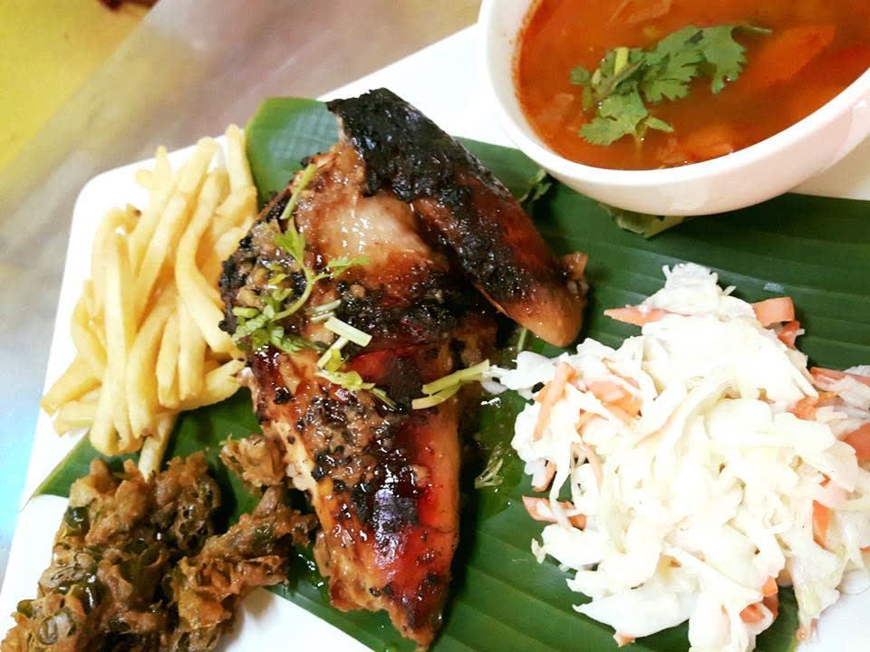 thức ăn tại nhà hàng poison ivy bistro