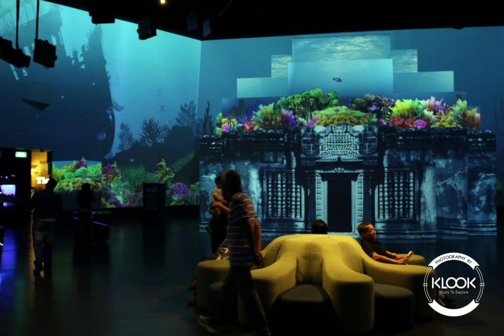trạm biến đổi khí hậu tại trung tâm khoa học singapore