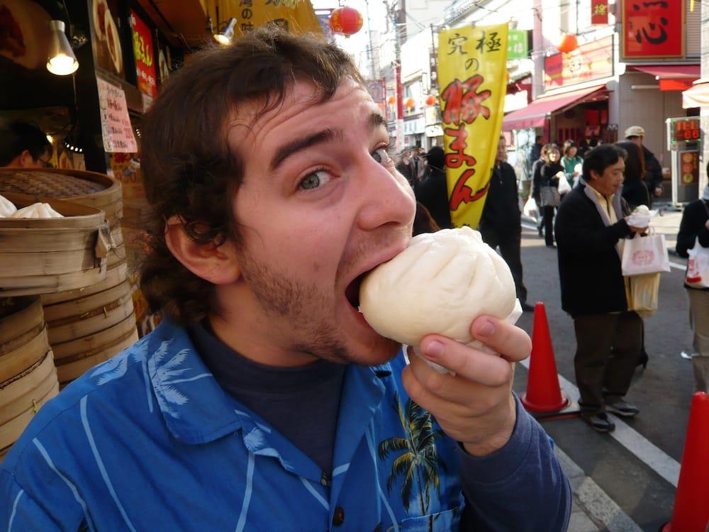 bánh bao nikuman là một trong những món ăn đường phố nhật bản phải thử