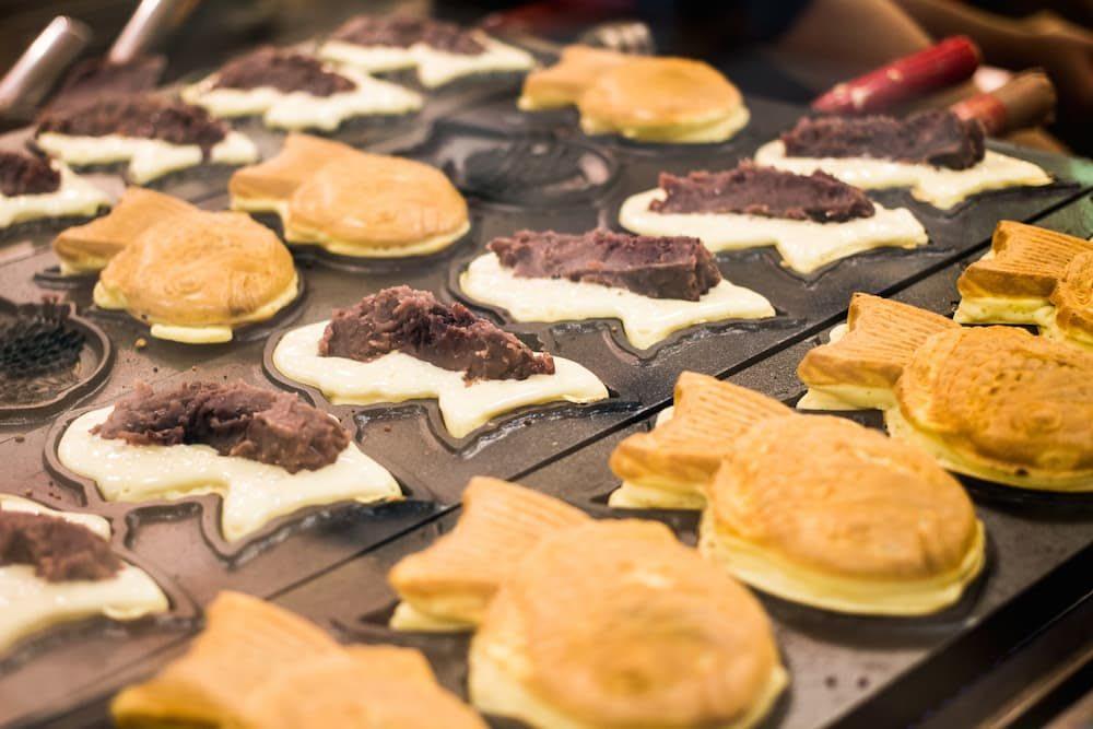 bánh cá tayaki là một trong những món ăn đường phố nhật bản phải thử