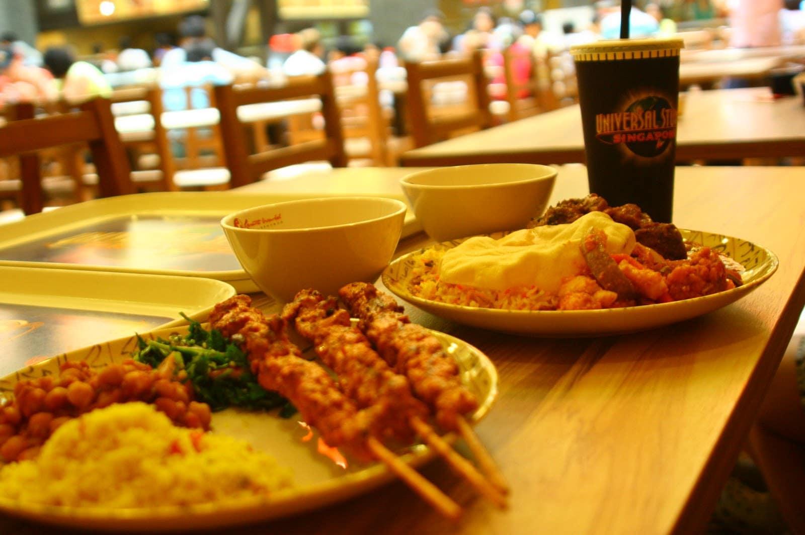 quán ăn có chứng nhận halal ở sentosa: cafe oasis spice