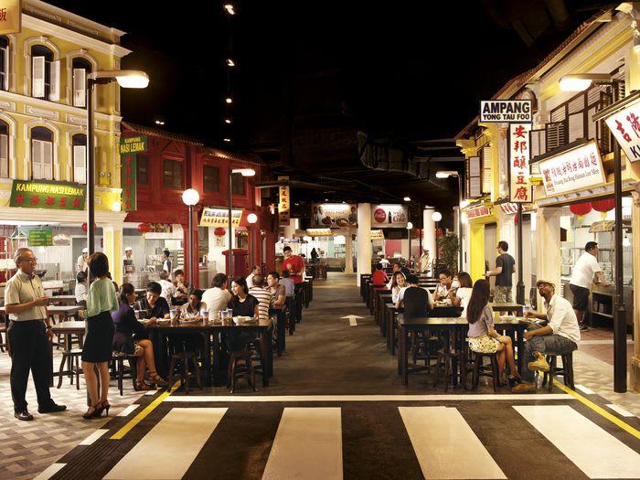quán ăn có chứng nhận halal ở sentosa: kampung nasi lemak