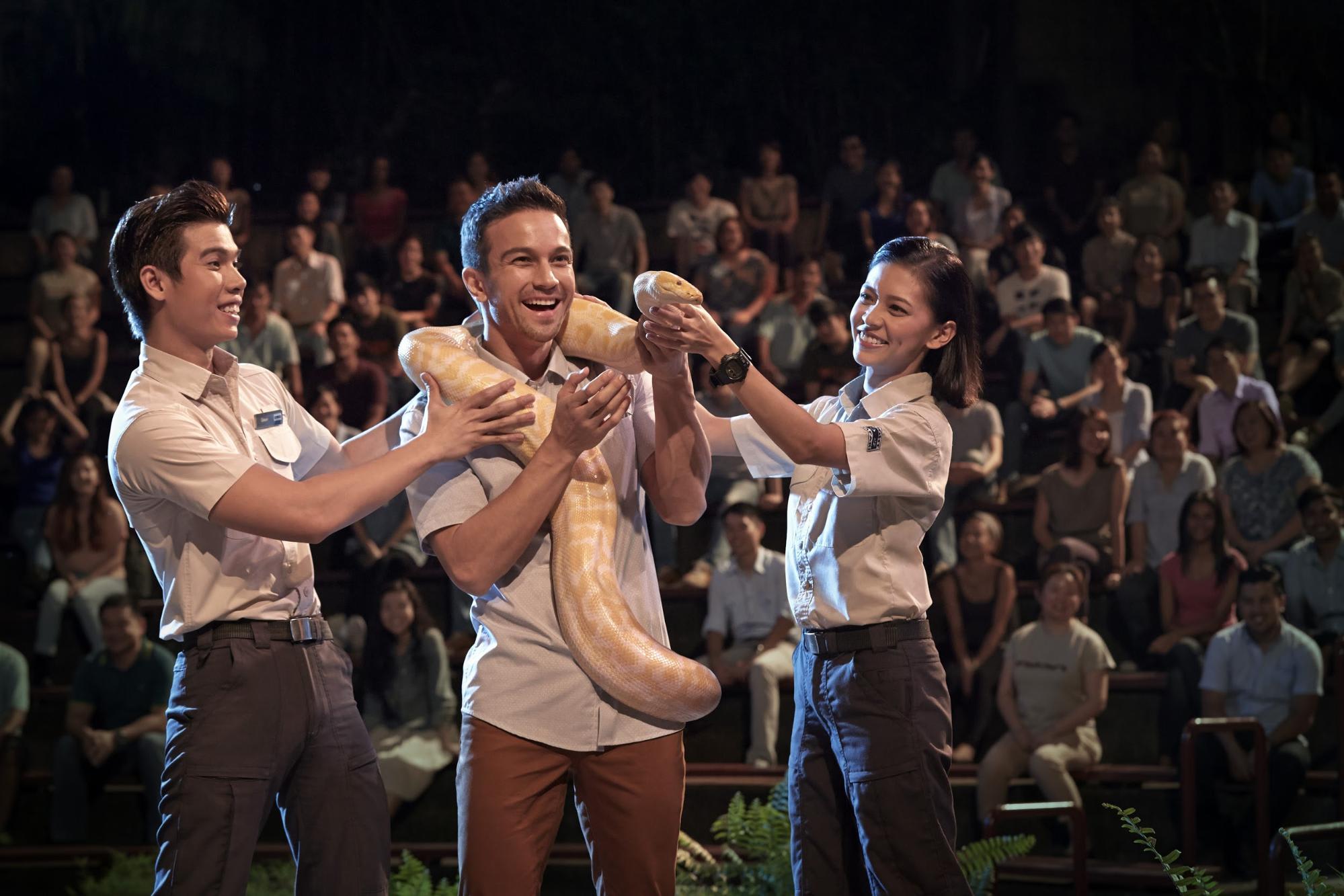 night safari singapore: show diễn động vật