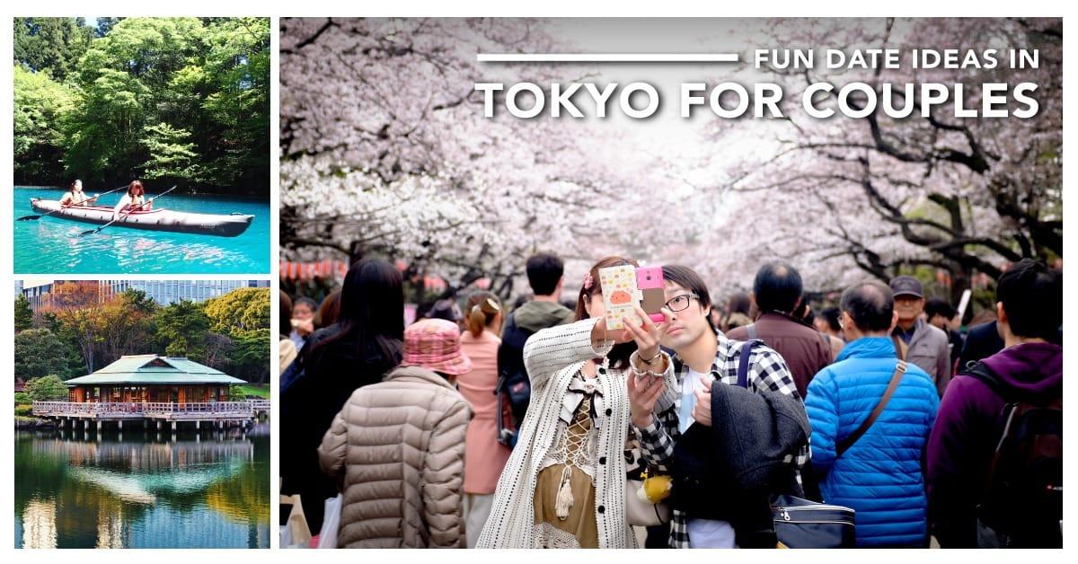 11 ý tưởng lãng mạn để hẹn hò ở tokyo