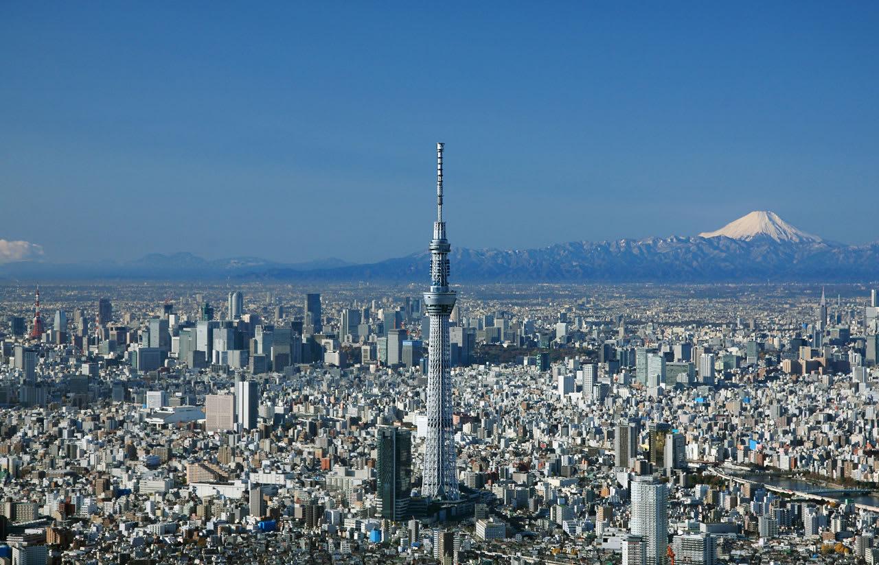 tháp sky tree là một ý tưởng hẹn hò ở tokyo