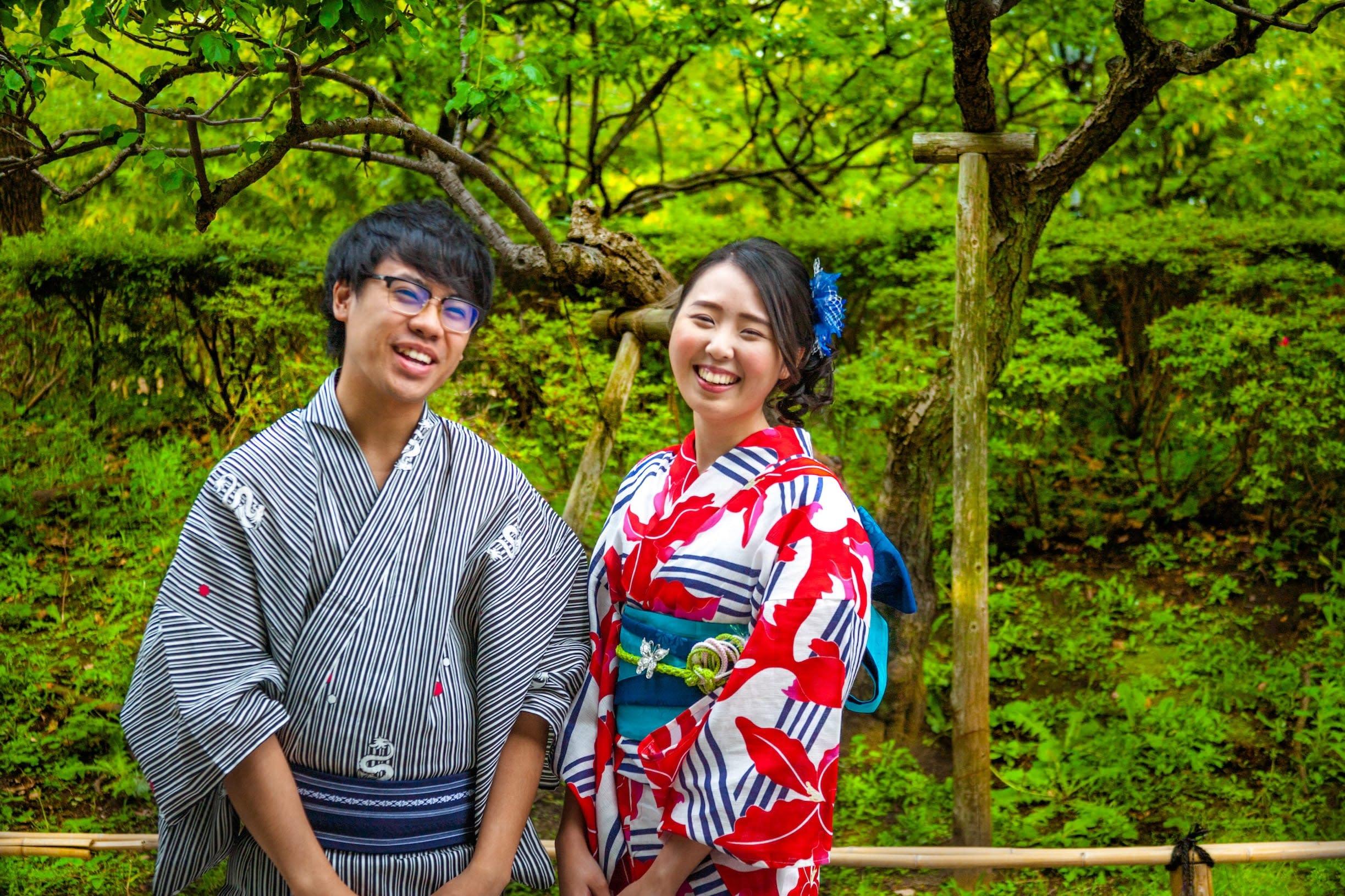 trải nghiệm kimono là một ý tưởng hẹn hò ở tokyo
