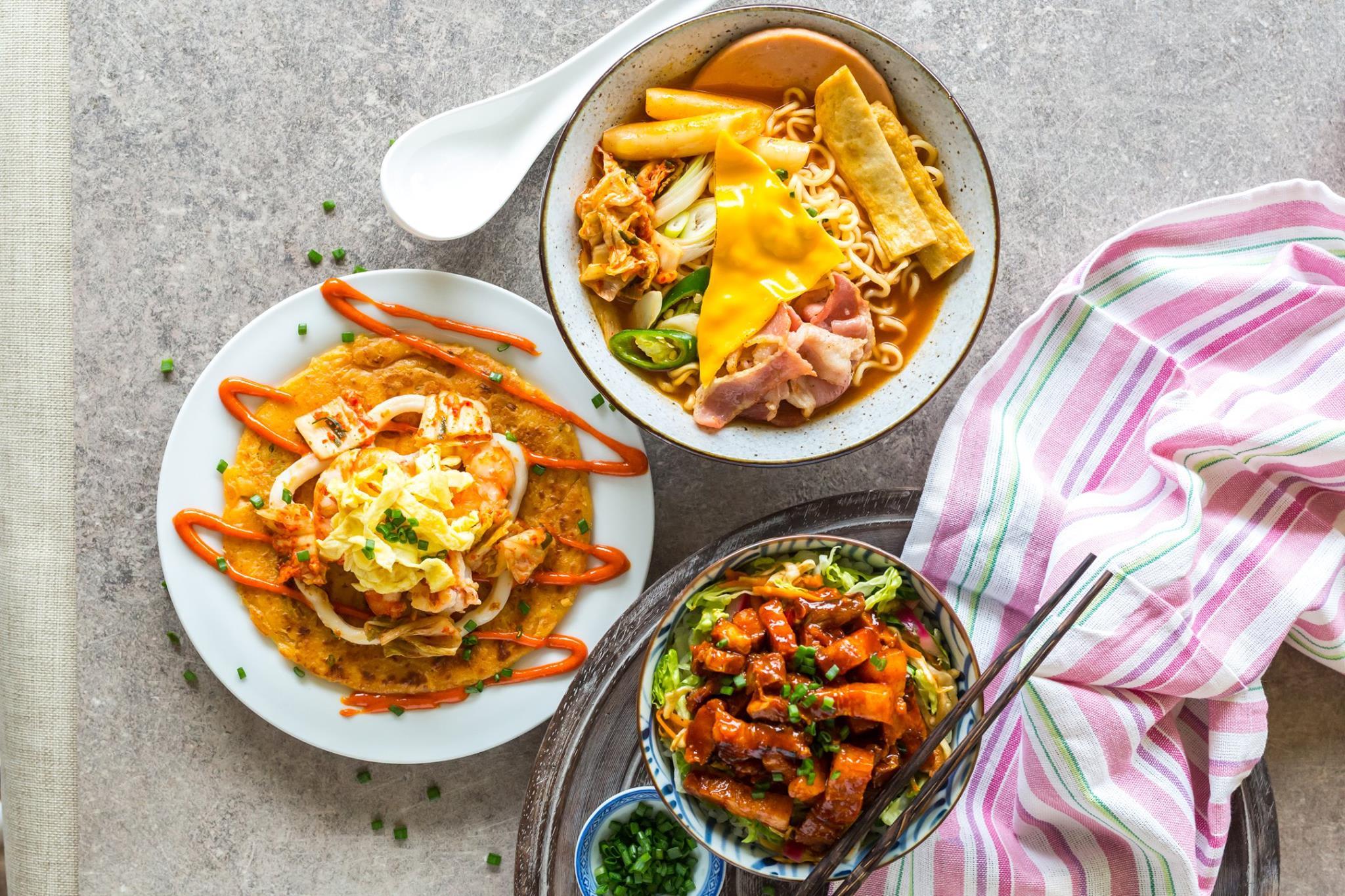 quán cafe ở singapore: thức ăn tại picnic sg