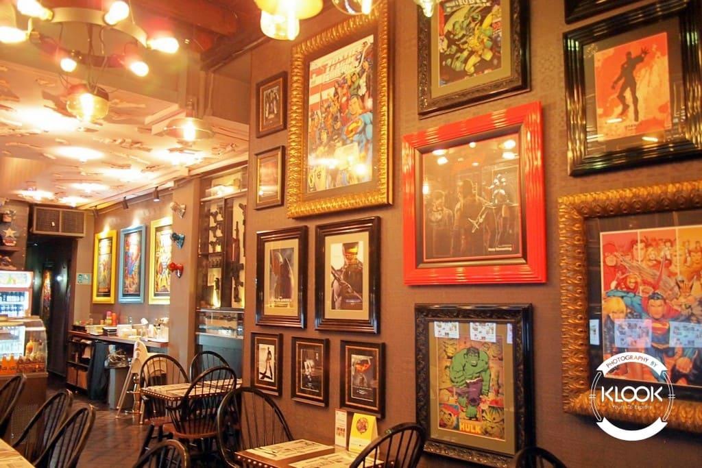 quán cafe tại singapore: quán hungry heroes