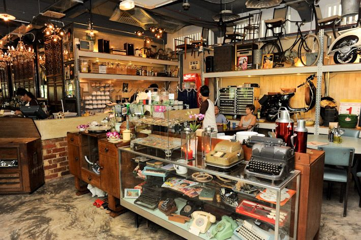 quán cafe ở singapore: quán coastal settlement