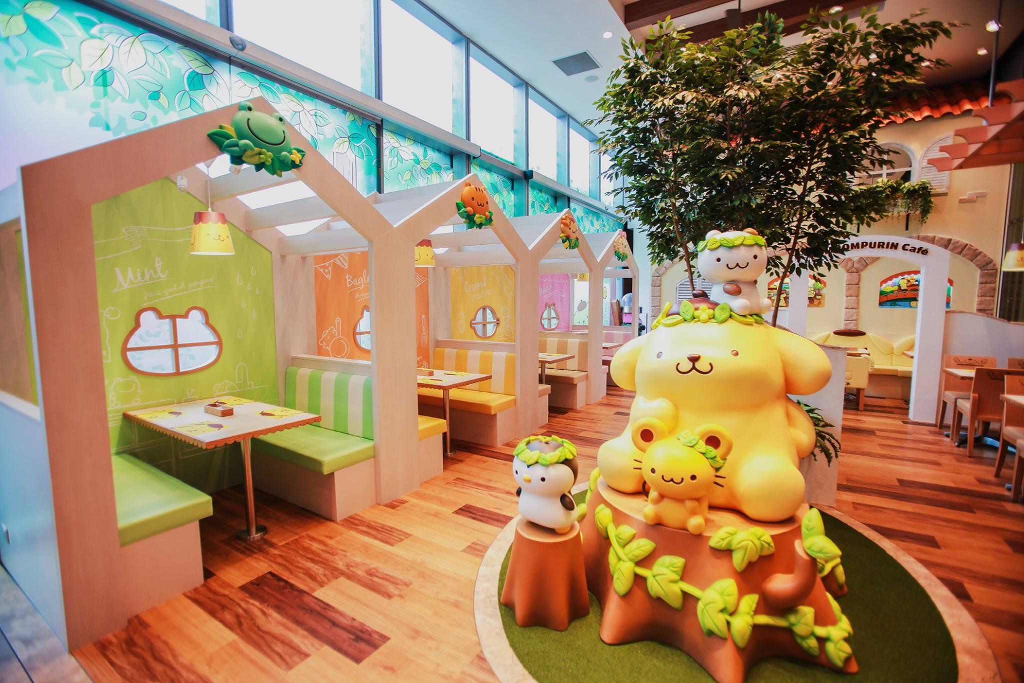 quán cafe ở singapore: pompompurin cafe