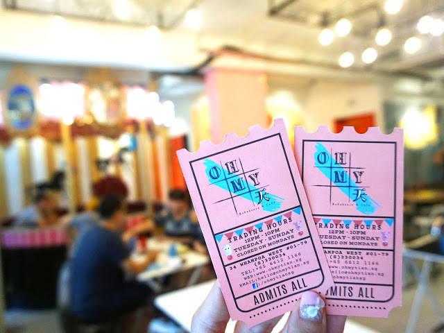 quán cafe ở singapore: oh my tian