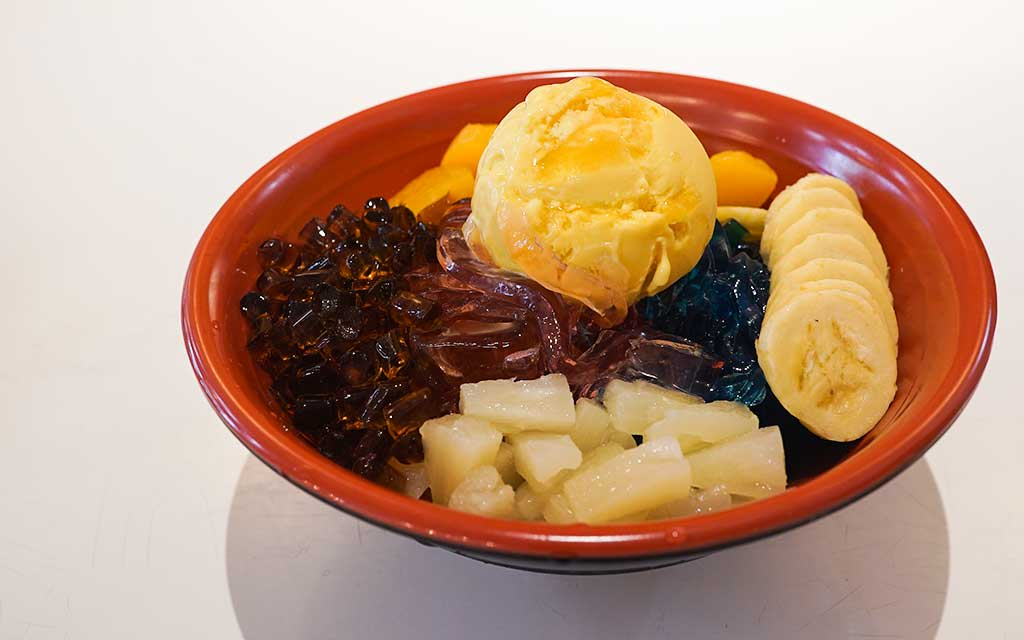 quán cafe ở singapore: jello ramen tại oh my tian