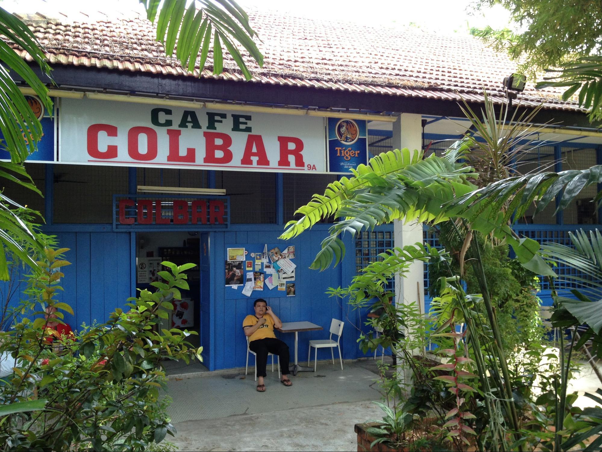 quán cafe ở singapore: colbar cafe
