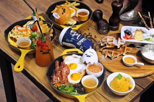 quán cafe ở singapore: gudetama cafe