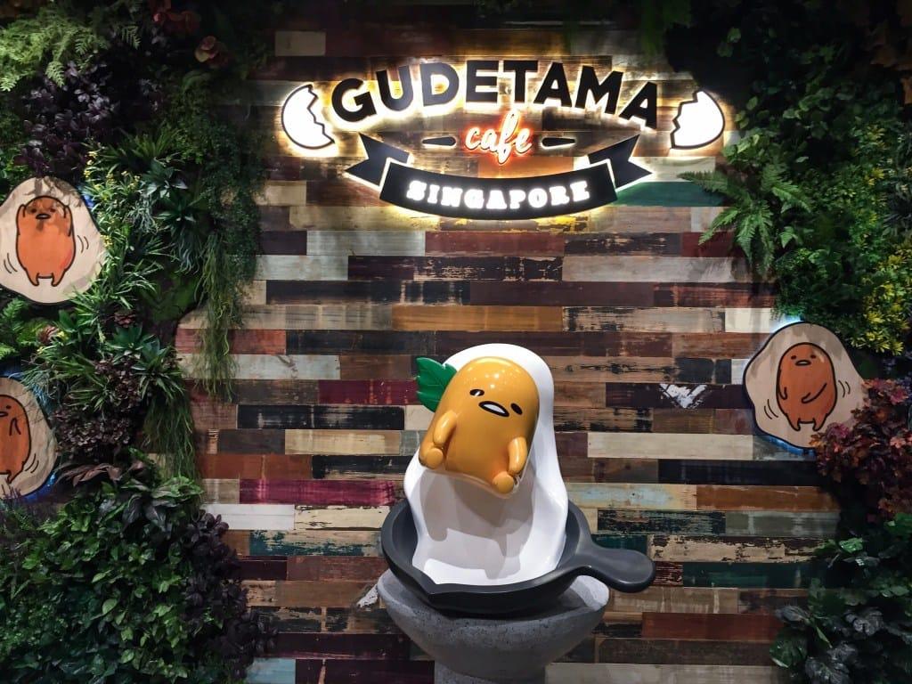 quán cafe ở singapore: quán gudetama cafe