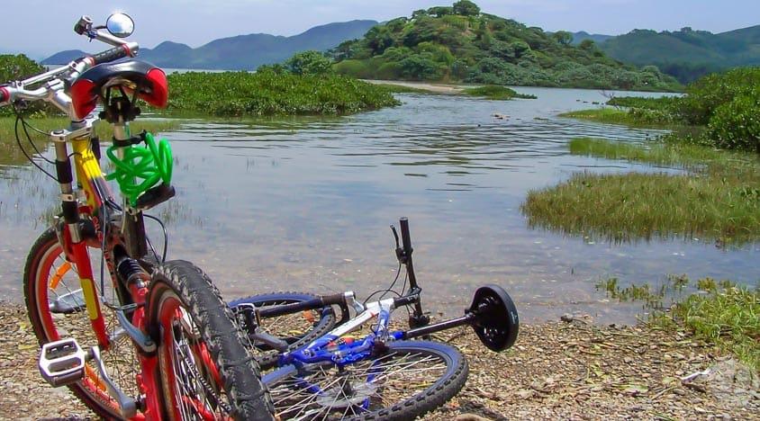 hoạt động ngoài trời ở hong kong: đạp xe đạp sinh thái
