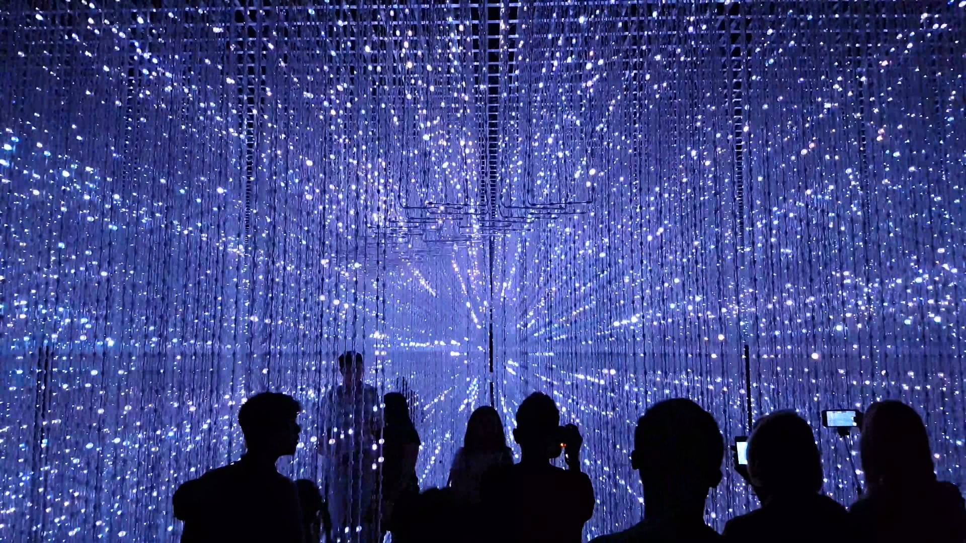 crystal universe tại future word exhibition