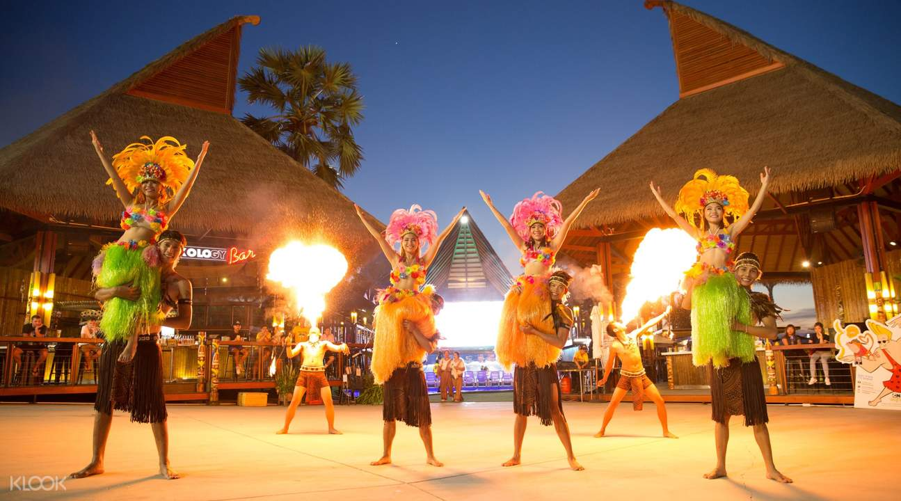 lễ hội múa lửa tại cartoon network amazone