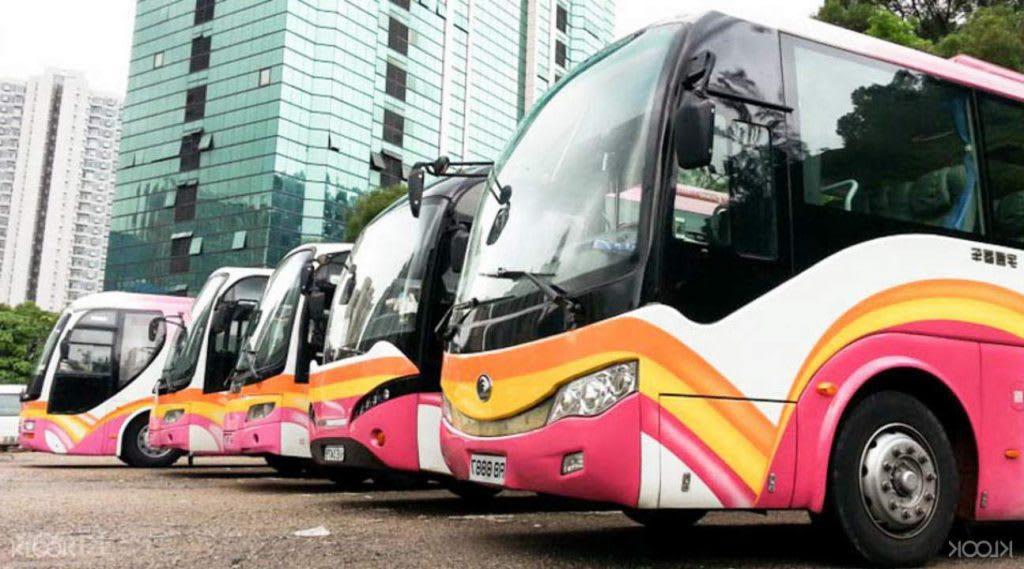 kinh nghiệm du lịch hong kong dành cho các cặp đôi: xe bus trung chuyển