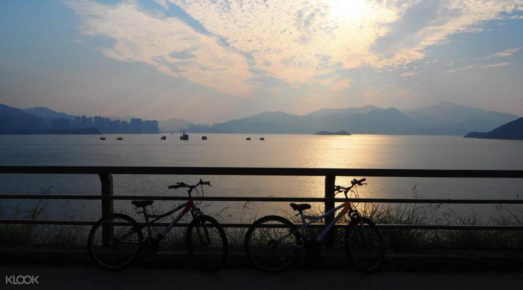 kinh nghiệm du lịch hong kong dành cho các cặp đôi: đạp xe hong kong