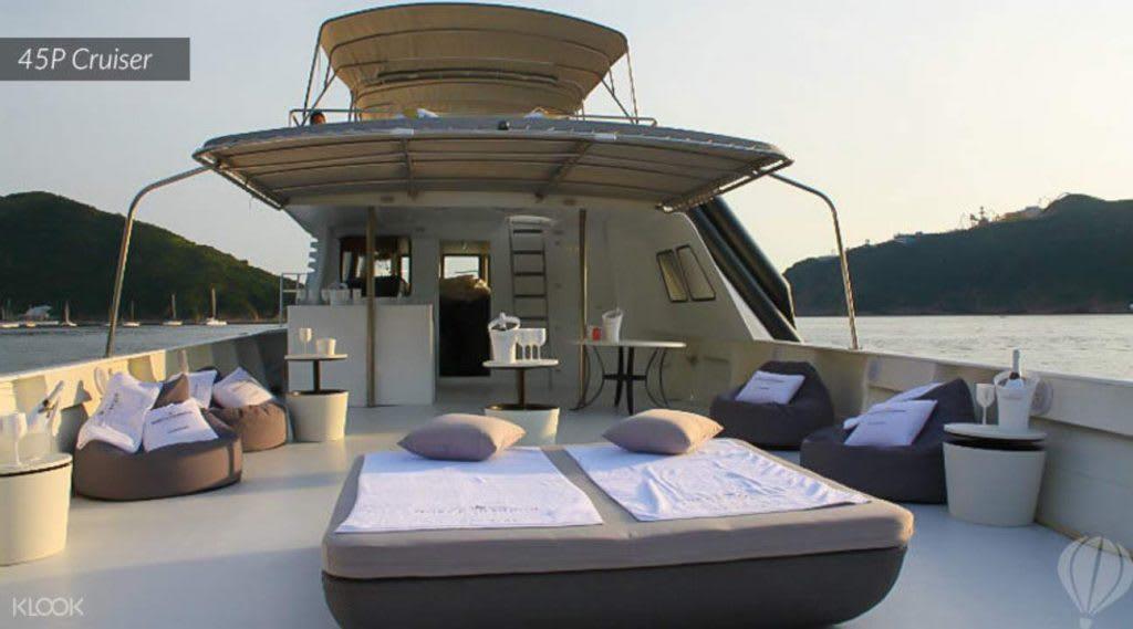 kinh nghiệm du lịch hong kong dành cho các cặp đôi: du thuyền riêng