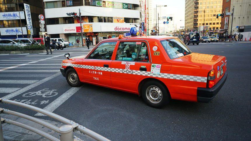 taxi từ sân bay đến tokyo