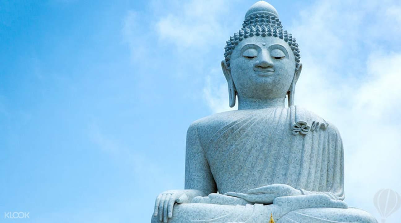 cuối tuần ở phuket: tượng phật lớn