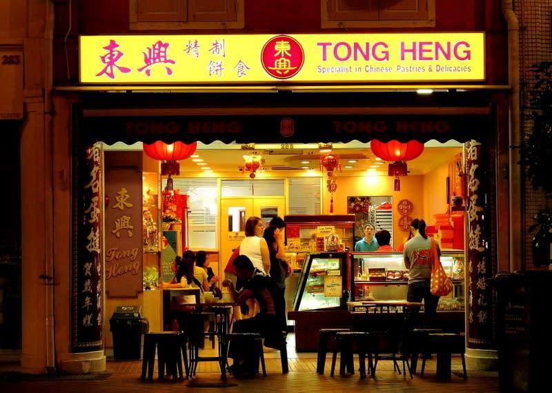 cuối tuần ở singapore: china town
