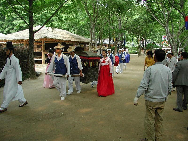 thăm hàn quốc dịp tết trung thu: nghi lễ truyền thống