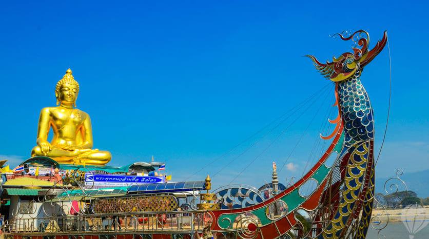 du lịch tự túc chiang mai: treasure ship vùng tam giác vàng