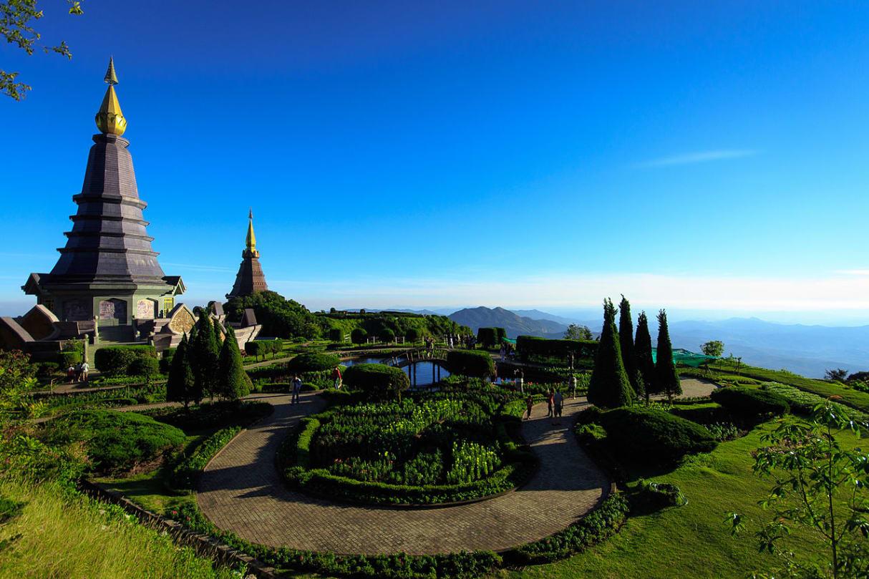du lịch tự túc chiang mai: công viên đa quốc gia doi inthanon