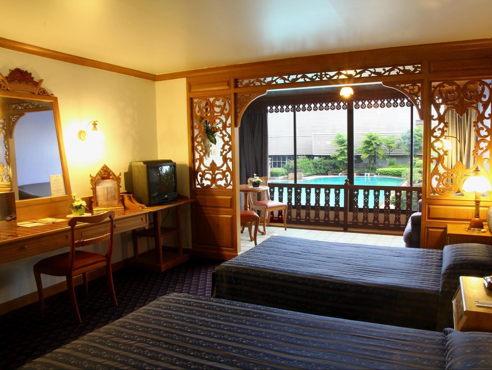 du lịch tự túc chiang mai: khách sạn lotus pang suan kaew
