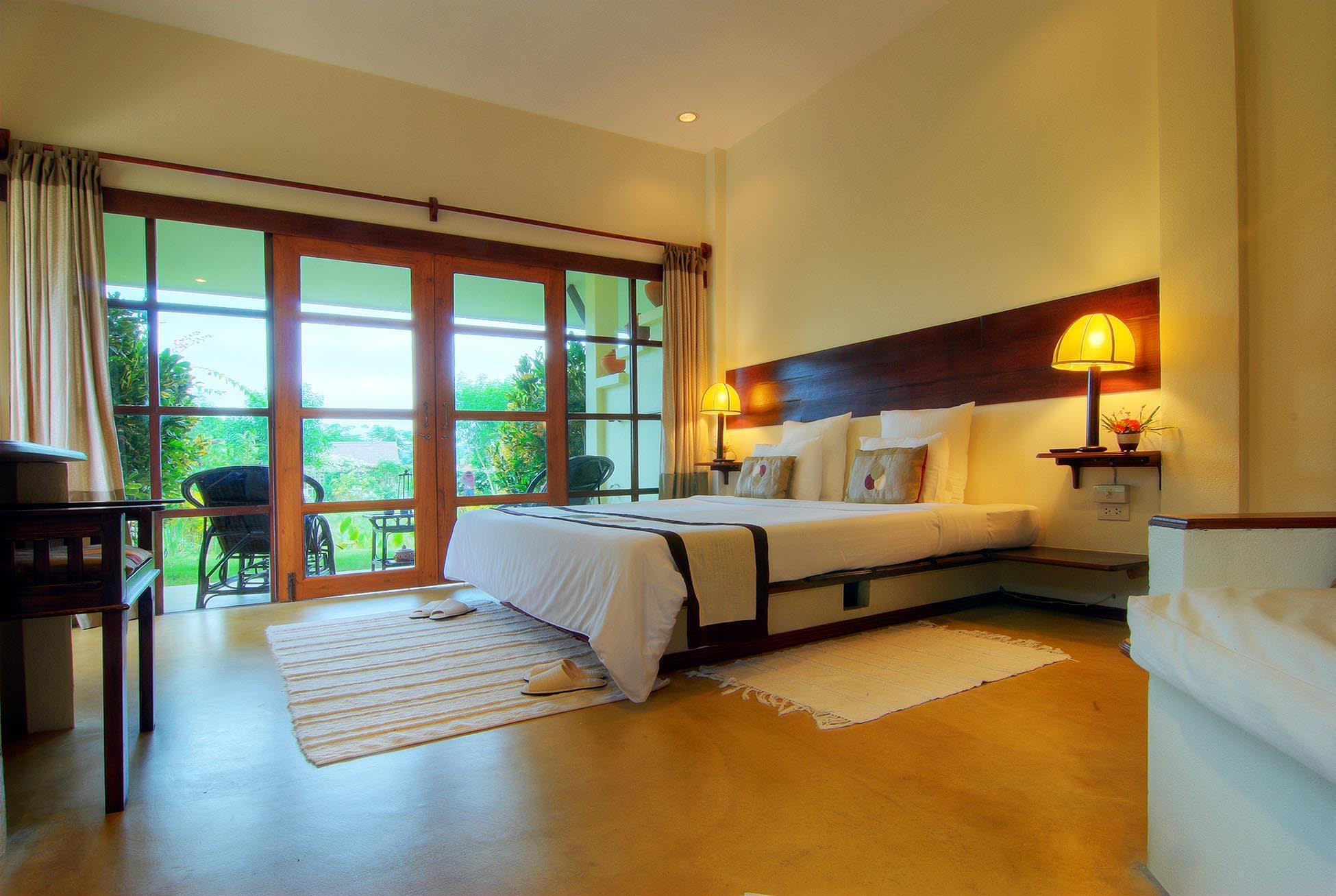 du lịch tự túc chiang mai: resort maekok river village