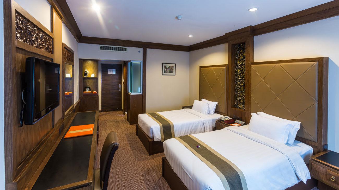 du lịch tự túc chiang mai: khách sạn suriwongse chiang mai