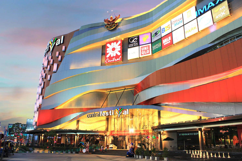 du lịch tự túc chiang mai: trung tâm thương mại central festival
