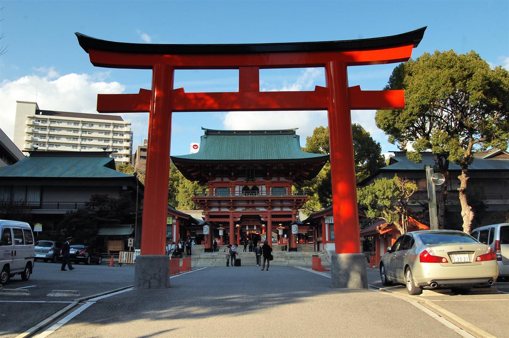 cổng đền ikuta