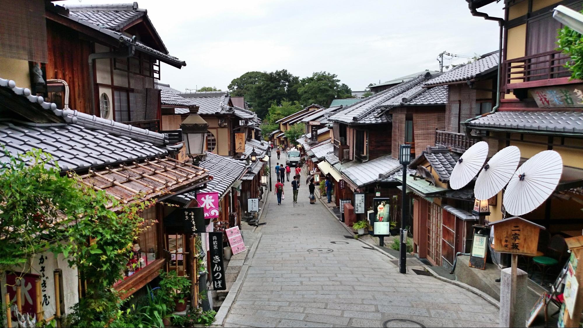 phố cổ kyoto