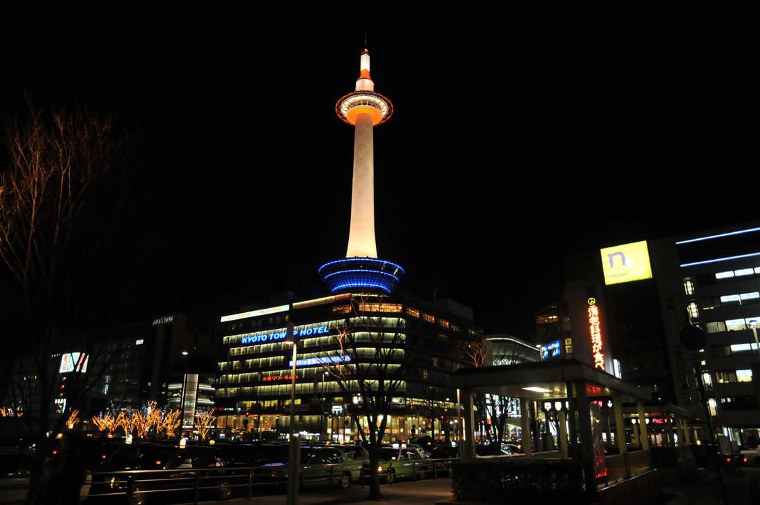 tháp kyoto về đem