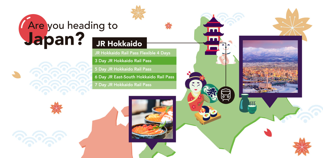 hướng dẫn sử dụng jr pass khu vực hokkaido